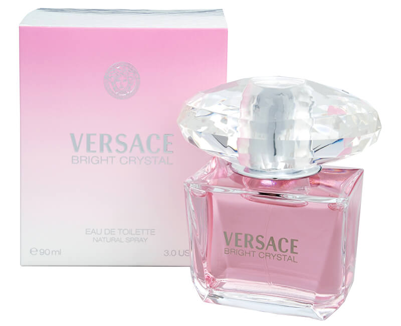 Versace Bright Crystal - EDT - REDUCERE - celofan deteriorat
