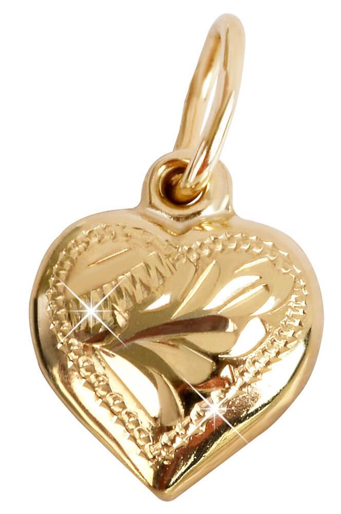 83030737b Brilio Zlatý prívesok Srdce 242 001 00001 - 0,70 g Doprava ZDARMA ...