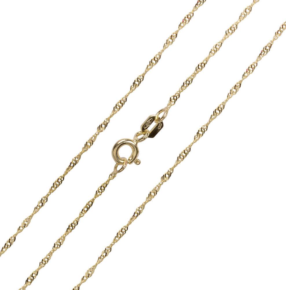 efed31eeb Brilio Luxusní řetízek ze žlutého zlata 45 cm 271 115 00181 - 1,40 g ...