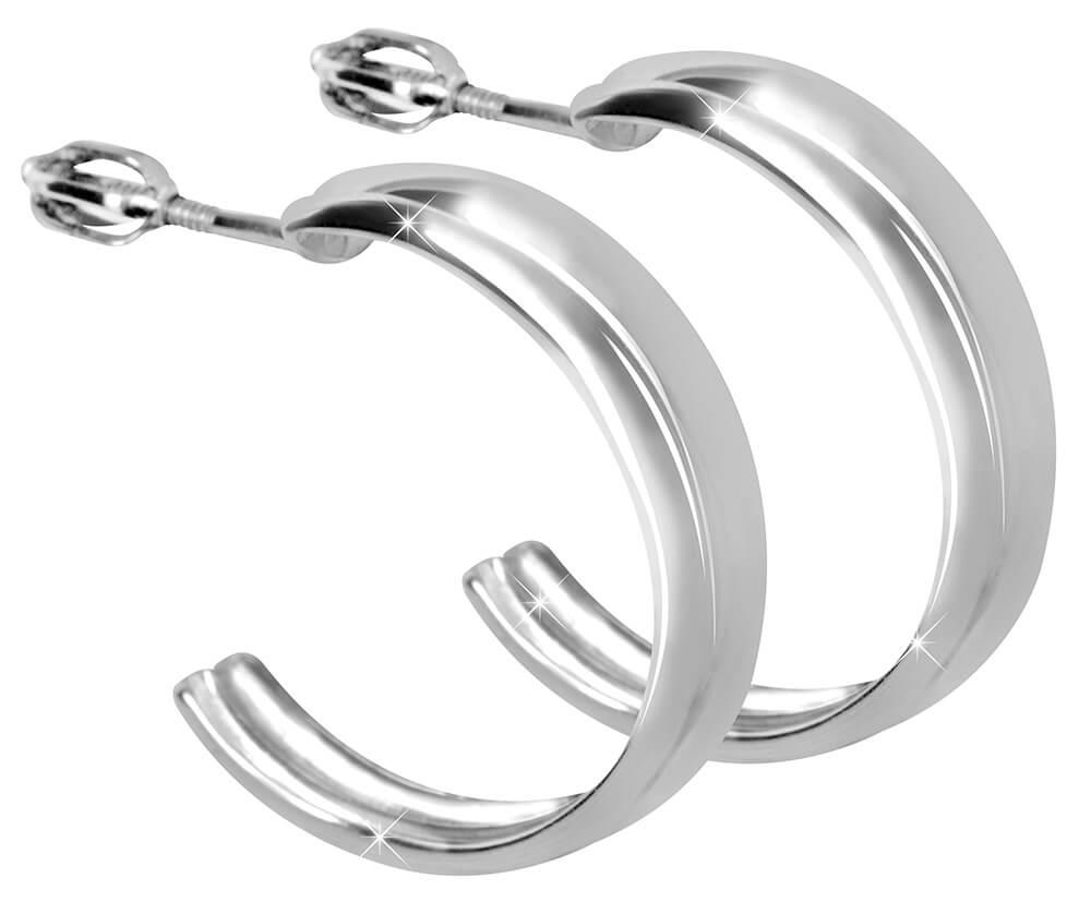 Brilio Silver Strieborné náušnice polkruhy 431 001 02725 04 - 3 391e14f1914