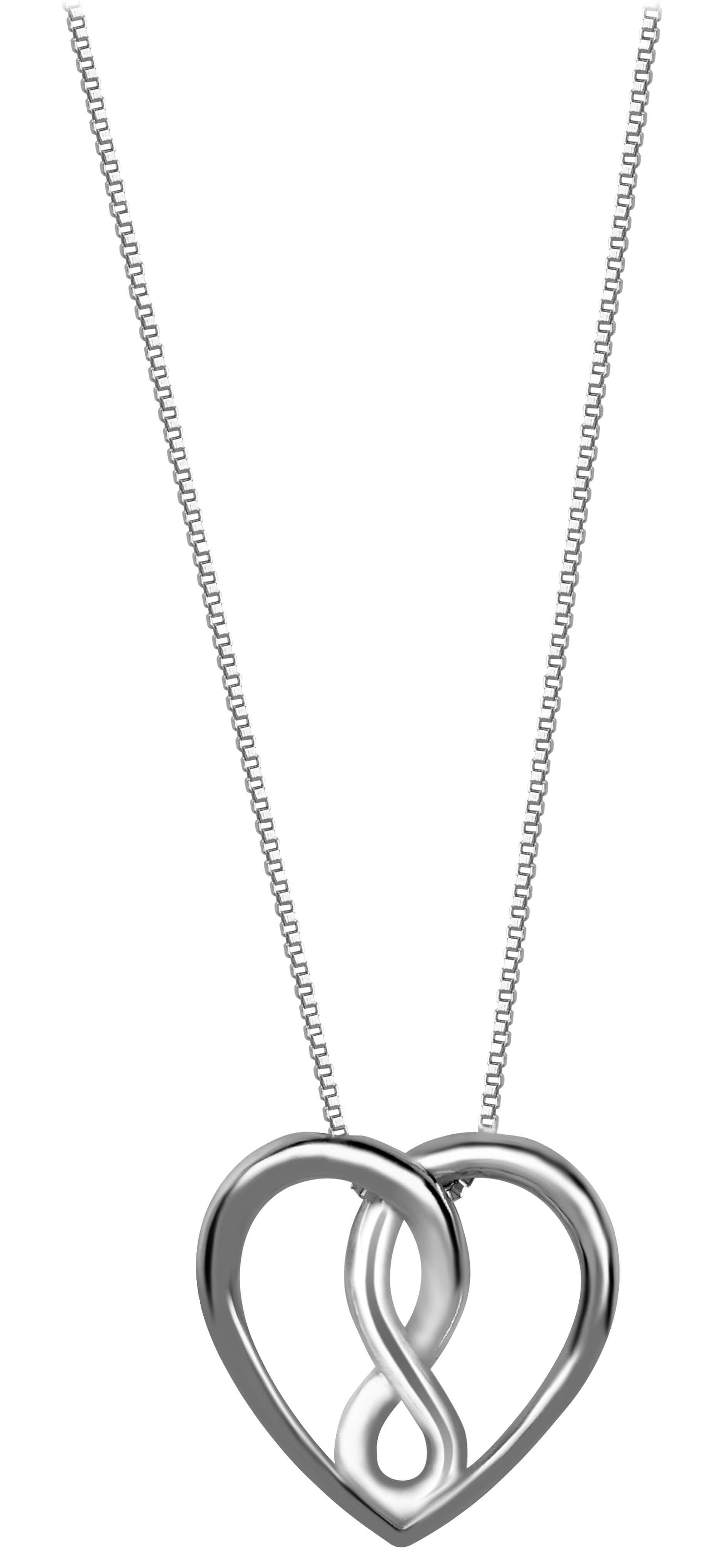 88d2cd79d Brilio Silver Stříbrný náhrdelník Srdce 473 086 00067 04 - 2,93 g (řetízek
