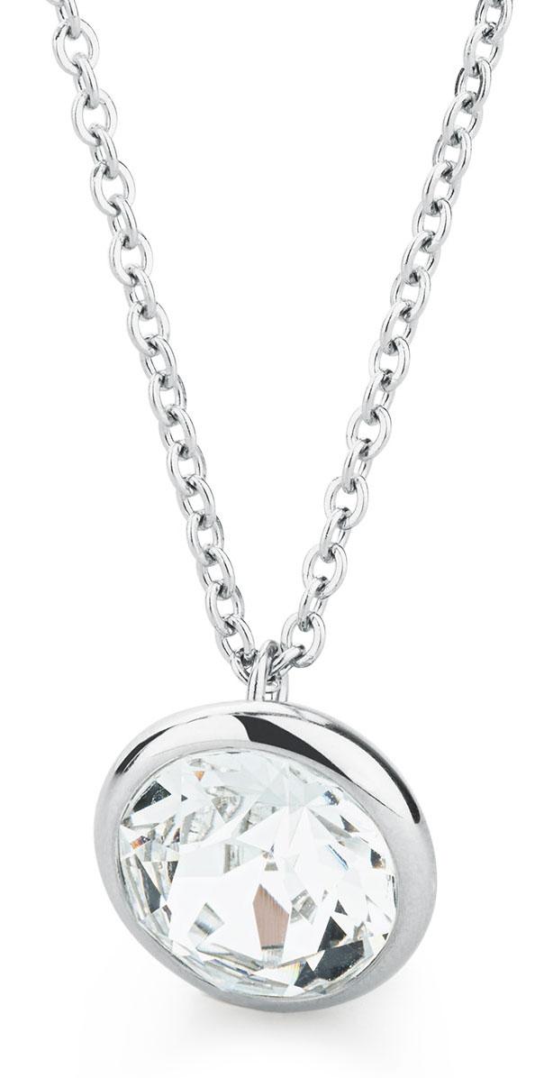 019cdaf46 Brosway Ocelový náhrdelník s krystalem Swarovski N-Tring BTN43 ...