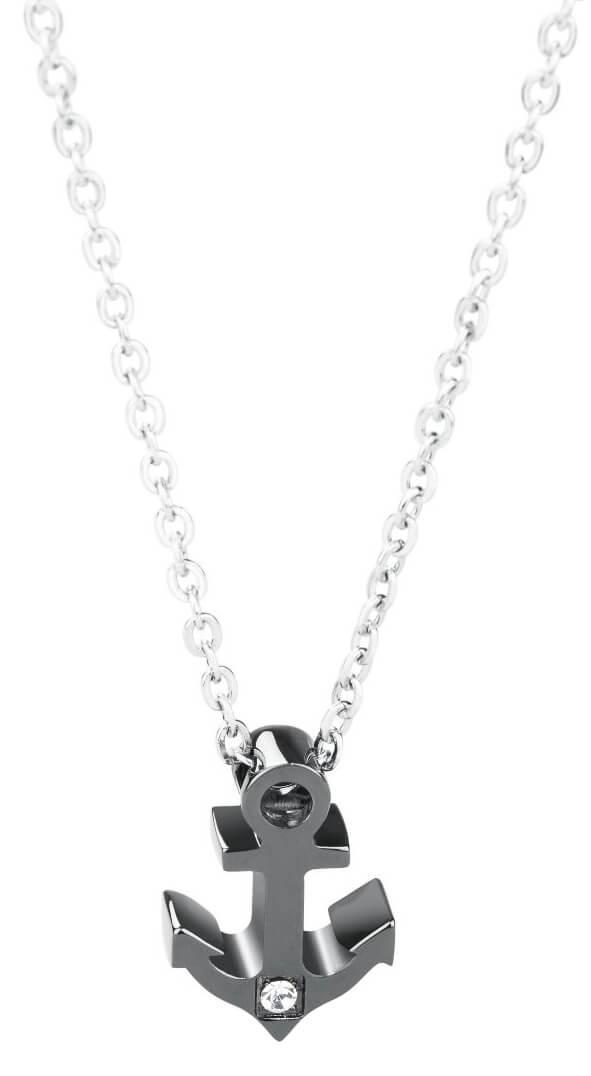 18659fc3b Brosway Pánsky oceľový náhrdelník s kotvou Marine BRN02 | Vivantis.sk