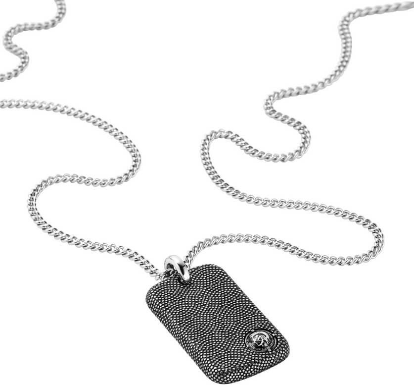 Diesel Pánský náhrdelník z oceli DX0894001 Doprava ZDARMA  17d58d7644