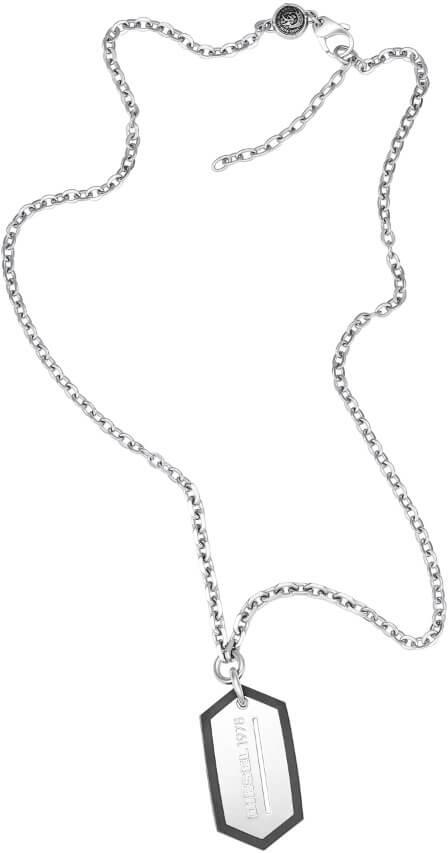 Diesel Pánský náhrdelník z oceli DX0996040 Doprava ZDARMA ... e26be99524