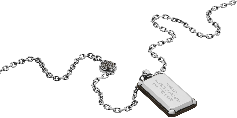 Diesel Pánský ocelový náhrdelník DX1019040 Doprava ZDARMA  aedeedb49d7