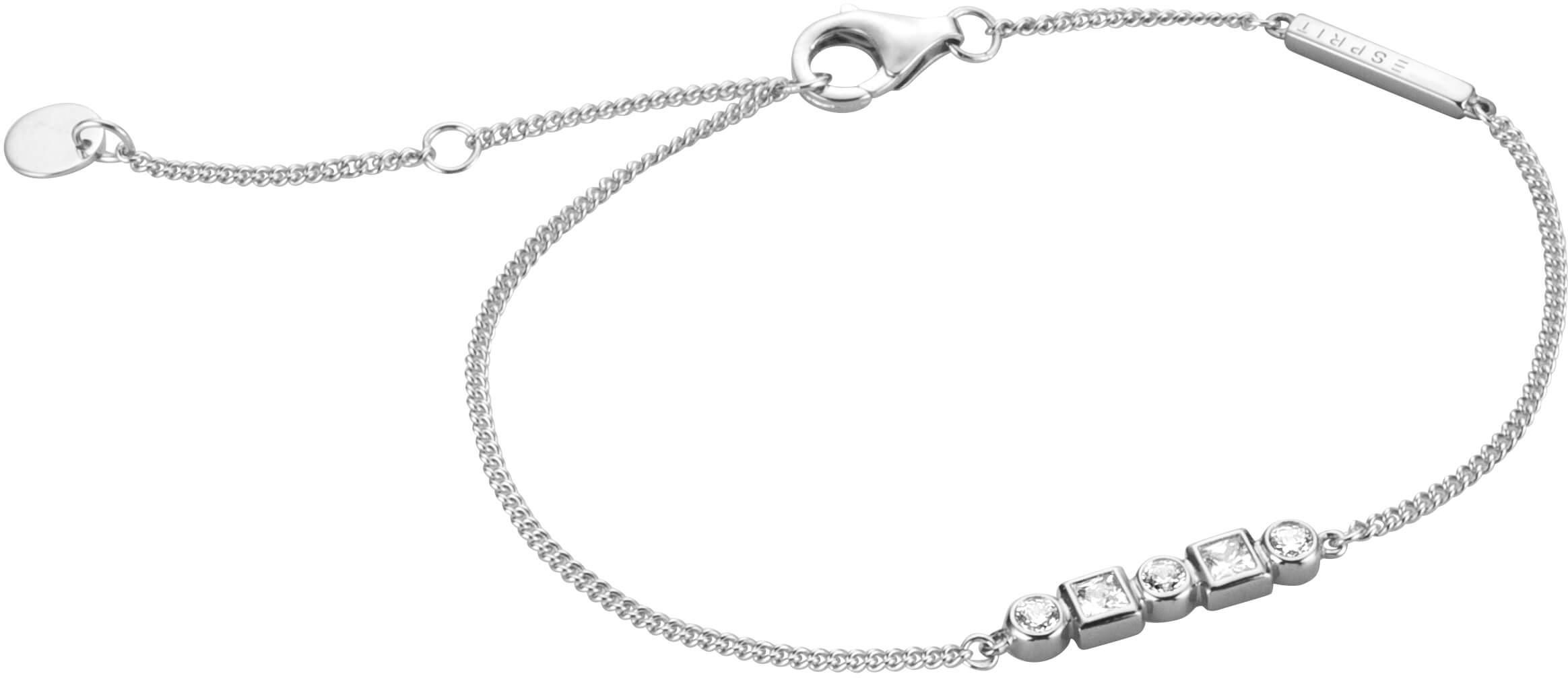 255bdfe483 Esprit Stříbrný náramek s krystaly Flow ESBR00521117 Doprava ZDARMA ...