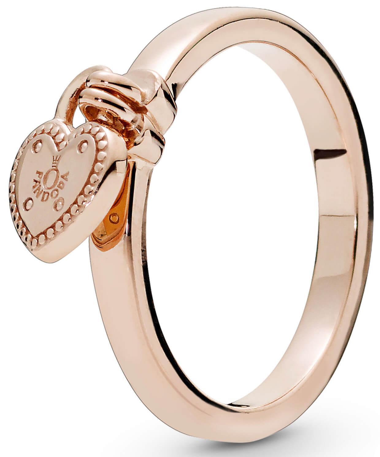 Pandora Bronzový prsten se srdíčkovým přívěskem 186571 Doprava ... c77b9237499