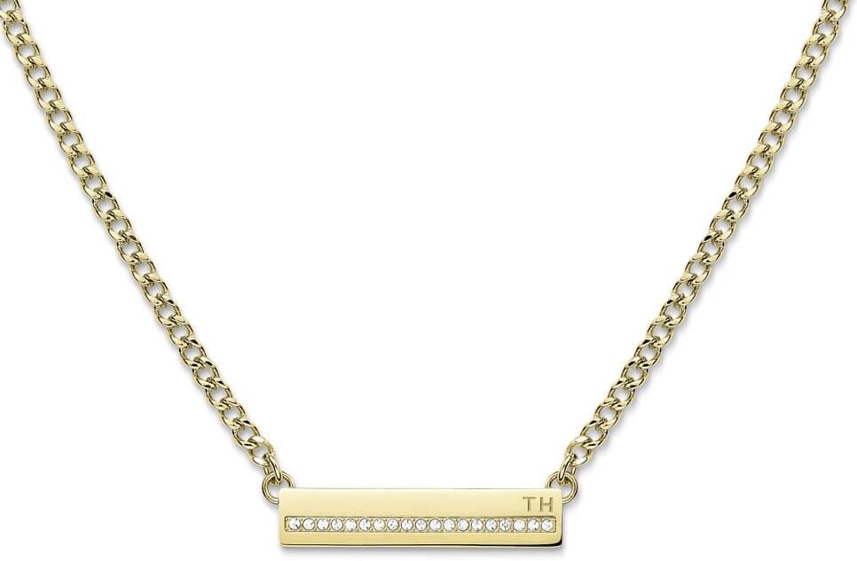 dd77bd7b4 Tommy Hilfiger Něžný náhrdelník s krystaly TH2700919 Doprava ZDARMA ...