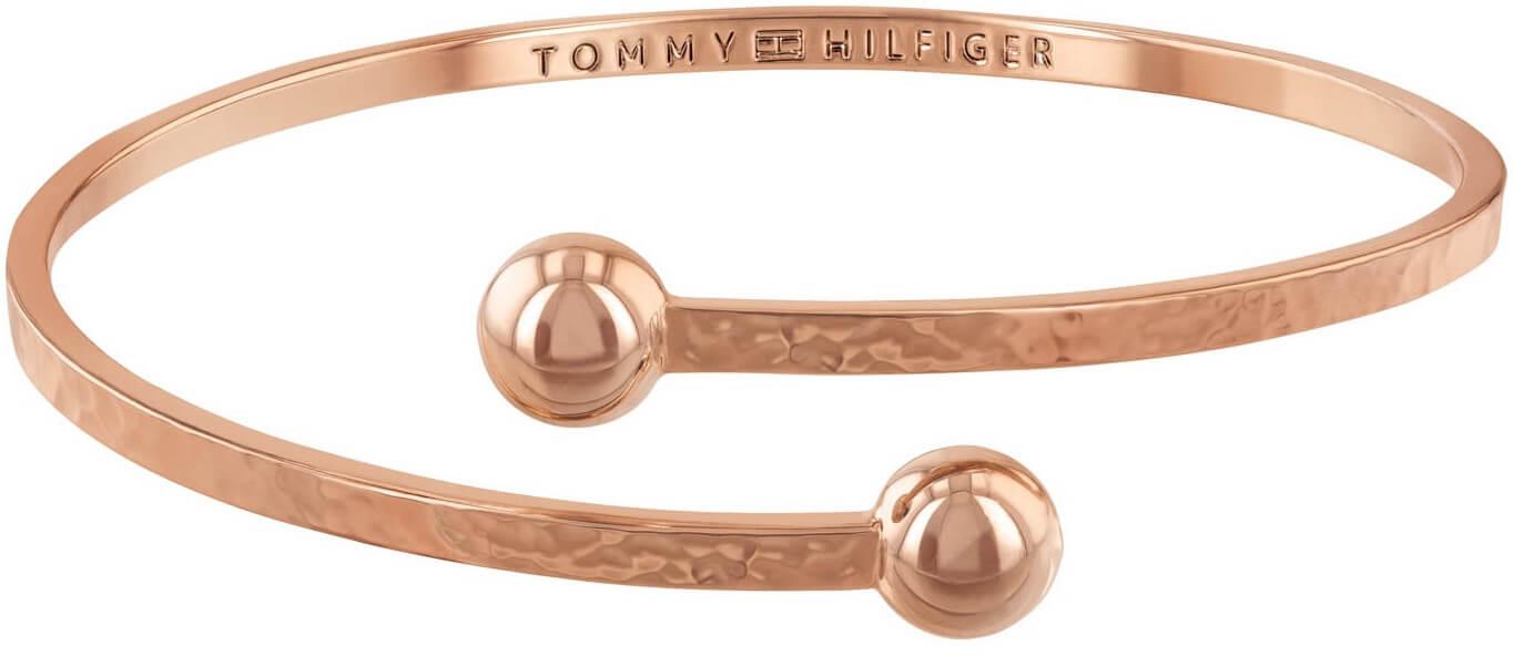 15625e1c80 Tommy Hilfiger Pevný bronzový náramek TH2780063 Doprava ZDARMA ...
