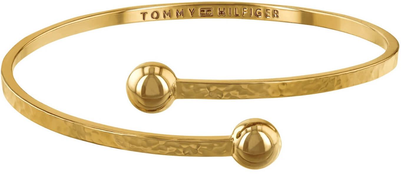d0f2857331 Tommy Hilfiger Pevný pozlacený náramek pro ženy TH2780062 Doprava ...