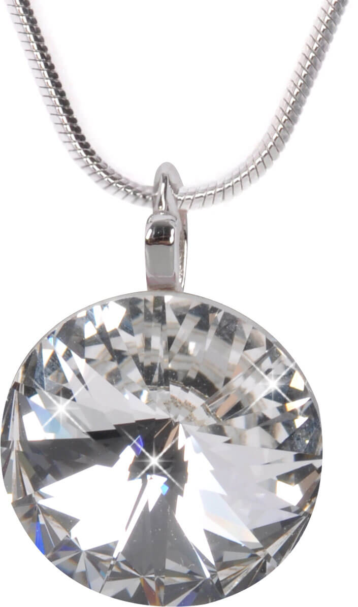 b9957e83a0a Troli Náhrdelník Rivoli 14 mm Crystal
