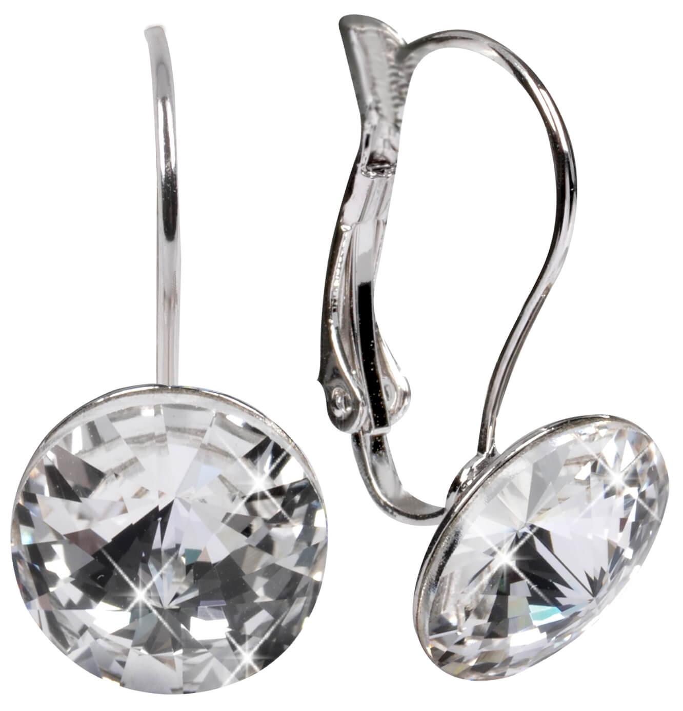 bcdf217fb20 Troli Náušnice Rivoli 12 mm Crystal