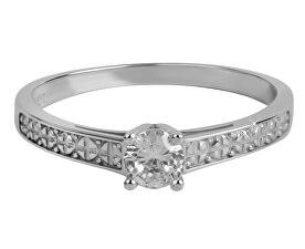 Dámsky prsteň s kryštálom 226 001 01017 07