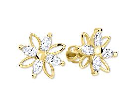 Brilio Květinové náušnice s krystaly 239 001 00920 - 2 0280c8ba853