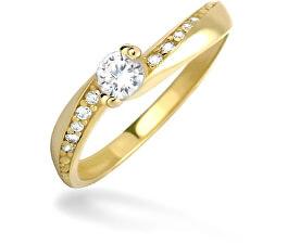 Dámský prsten s krystaly 229 001 00449