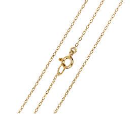 Elegantní zlatý řetízek Anker 40 cm 271 115 00271 - 1,20 g