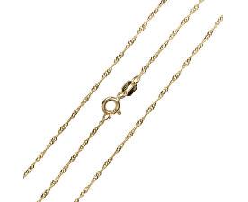 Brilio Luxusné retiazka zo žltého zlata 45 cm 271 115 00181 - 1 eca06d8656b