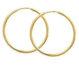 Zlaté náušnice kruhy 231 001 00428 - 1,50 g