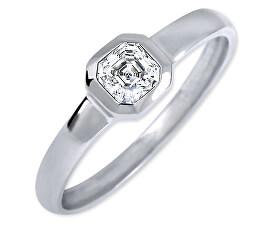 Stříbrný zásnubní prsten 426 001 00509 04 - 1,27 g