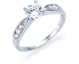 Stříbrný zásnubní prsten 5177855