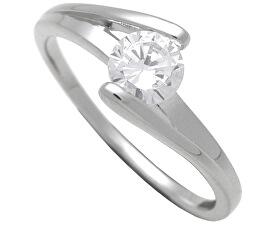 Stříbrný zásnubní prsten 7111048