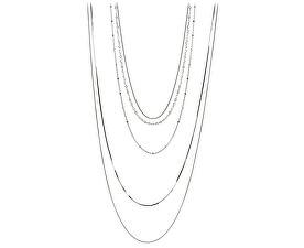 Vrstvený stříbrný náhrdelník 42 cm 473 086 00072 - 9,89 g