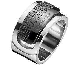 Pánsky oceľový prsteň Confidence KJ4QBR2001