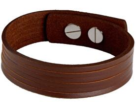 Brățară din piele de culoare brună Londra CS03-5002