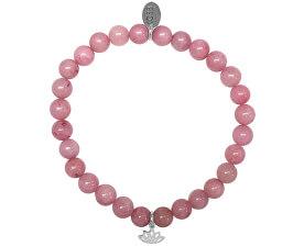 Rózsaszín jade karkötő 865-180-017038-0000