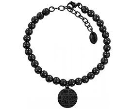Ocelový korálkový náramek 860-180-014021-0000