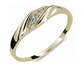 Jemný diamantový prsten DF2084z
