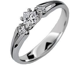 Luxusní zásnubní prsten DLR2105b