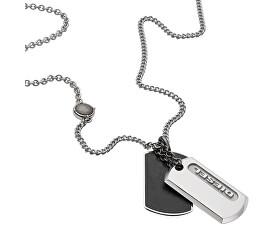 Colier din oțel pentru bărbați DX0954040