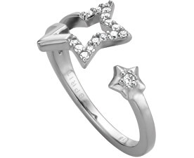 Stříbrný prsten s hvězdičkami Vivid Star ESRG004511