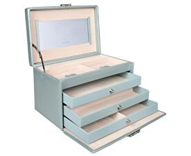 Casetă de bijuterii albastru /bej Jolie 23255-54