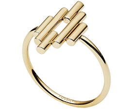 Pozlacený prsten z oceli JF02651710