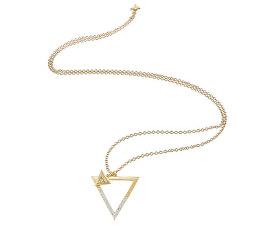 Colier placat cu aur Fashion UBN83088