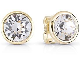 Cercei cu cristal placați cu aur UBE83051