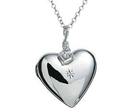 Náhrdelník Just Add Love Starry Heart DP132 (řetízek, přívěsek)
