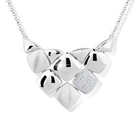 Designový náhrdelník ze stříbra M43047