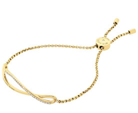Jemný zlatý náramek MKJ6617710