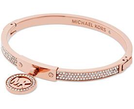 Pevný luxusní náramek s krystaly MKJ5978791
