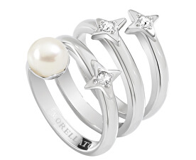 Oceľový prsteň Luci SACR10