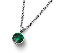 Colier cu cristal verde Ocean Uno 11740 205