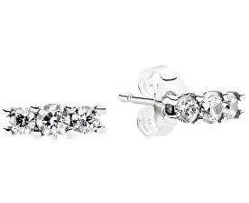 Drobné náušnice s krystaly 290725CZ