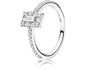 Pandora Luxusní třpytivý prsten ze stříbra 197541CZ 0df077aa355