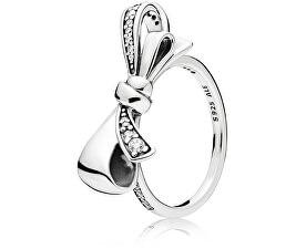 Inel de argint orbitor cu arc