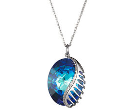Náhrdelník Fairy Tale Fantasy s krystalem Bermuda Blue 7222 46