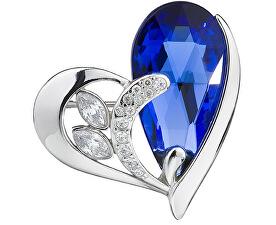Stříbrná brož Wild Heart Sapphire 6648 68